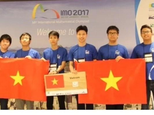 Vietnam obtiene mejores resultados en Olimpiada Internacional de Matematica hinh anh 1