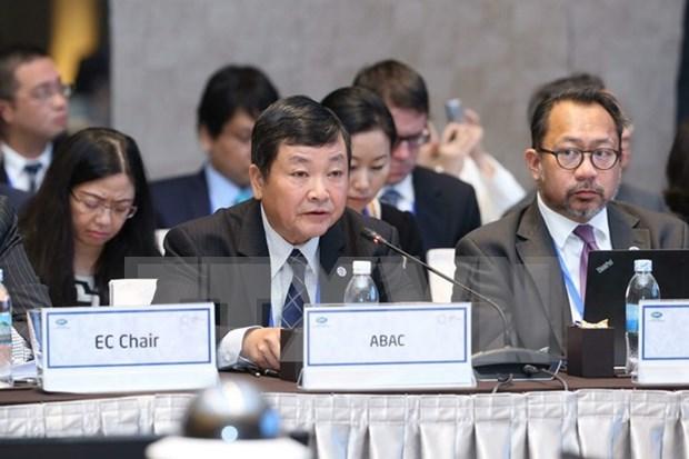 Representantes de ABAC y Vietnam debatiran sobre preparacion para APEC 2017 hinh anh 1