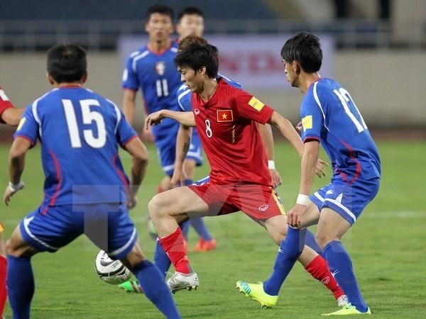 Vietnam aplasta sin piedad a Macao en eliminatoria de Copa Asiatica hinh anh 1