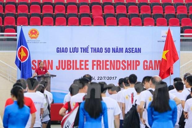 Paises de ASEAN fortalecen la solidaridad mediante intercambio deportivo hinh anh 1