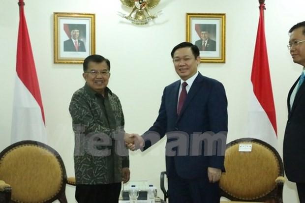 Vietnam e Indonesia analizan medidas para materializar meta de comercio bilateral hinh anh 1