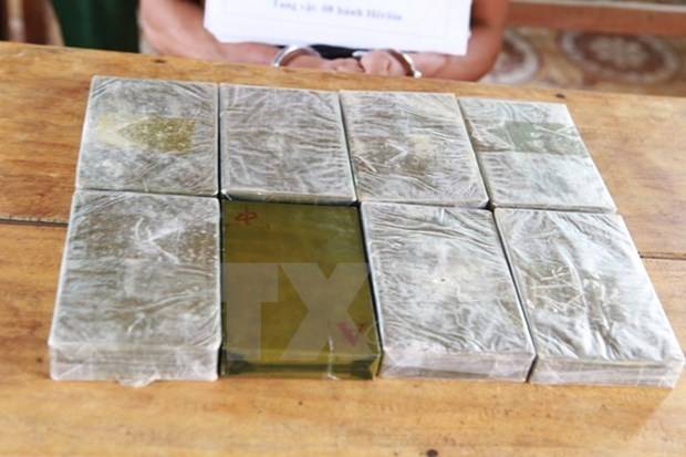 Decomisan en frontera Vietnam- Laos gran cantidad de heroina hinh anh 1