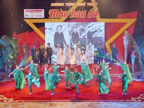 Vietnam continua actividades artisticas para glorificar a los martires hinh anh 1