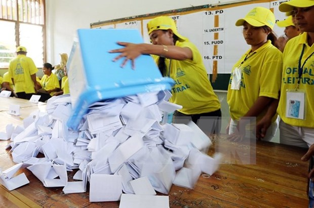 El FRETILIN lidera los comicios parlamentarios en Timor Leste hinh anh 1