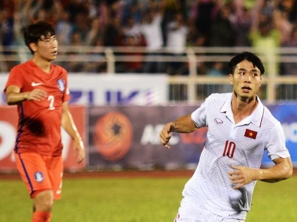 Sub-22 de Vietnam gana boleto para Campeonato Asiatico de futbol hinh anh 1