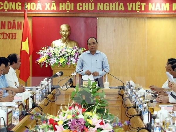 Premier de Vietnam: Aceria Formosa debe considerar asunto ambiental como una cuestion vital hinh anh 1