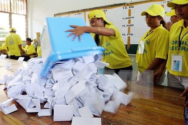 FRETILIN vence en comicios parlamentarios en Timor Leste hinh anh 1
