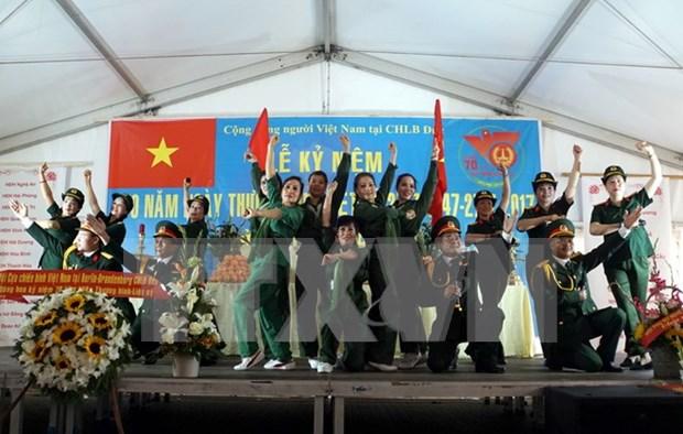 Comunidad vietnamita en Alemania realizan requiem por Dia de Invalidos de Guerra y Martires hinh anh 1
