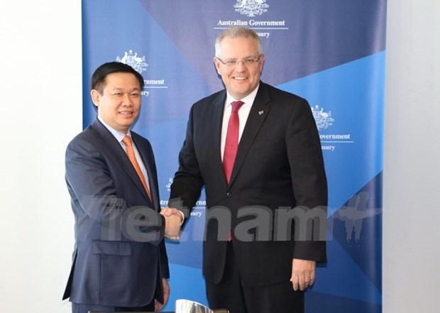 Australia con alto compromiso de respaldar a Vietnam por un desarrollo sostenible hinh anh 1