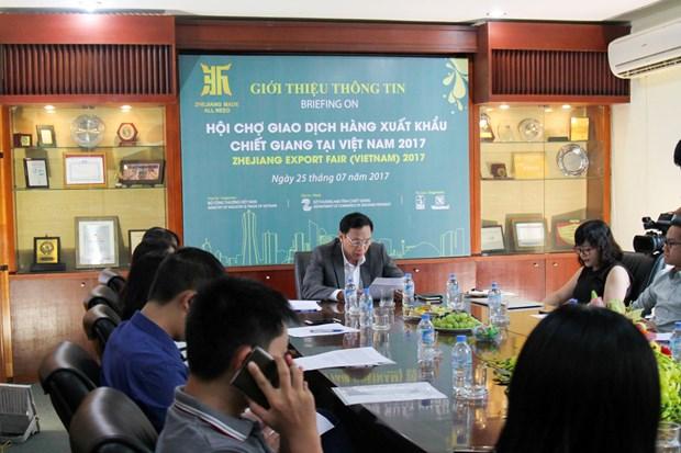 Provincia china de Zhejiang presentara sus productos en Vietnam hinh anh 1