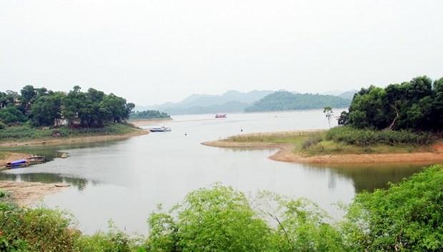 Aprueban plan para desarrollo de zona turistica en lago Nui Coc de Vietnam hinh anh 1