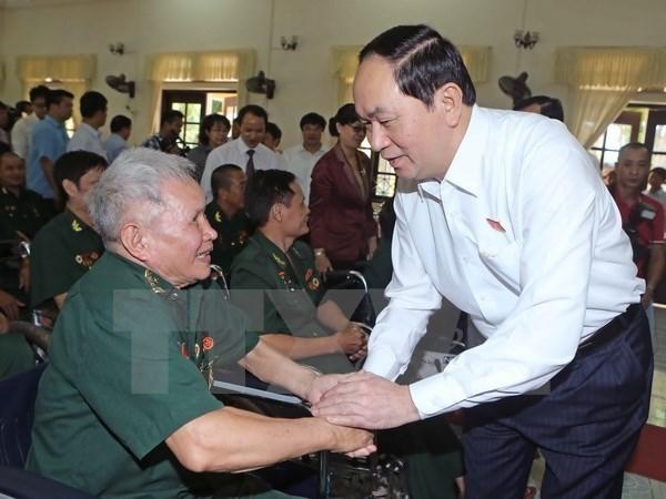 Consagracion de veteranos y martires, tesoro espiritual del pueblo vietnamita hinh anh 1