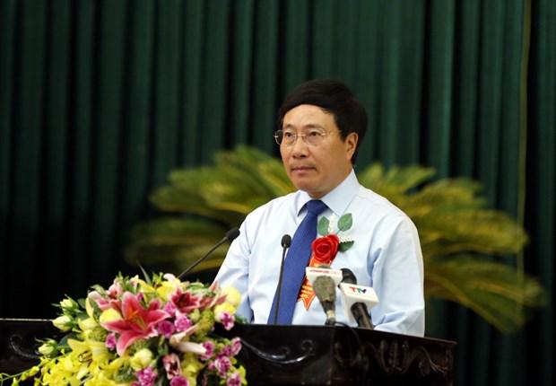 Reconocen esfuerzos de Thanh Hoa en atencion a personas con meritos revolucionarios hinh anh 1