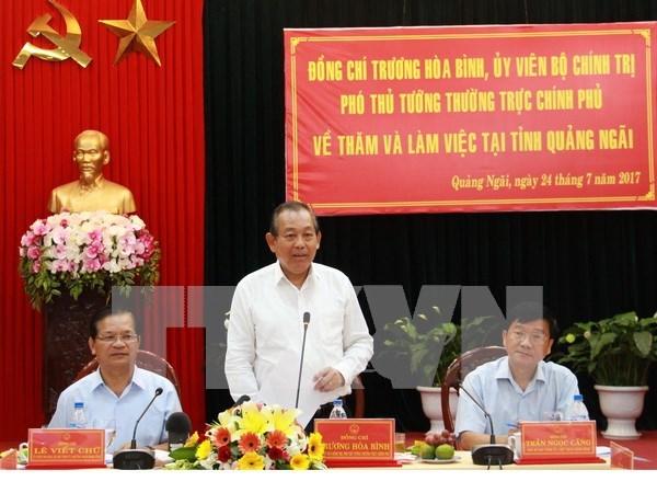Vicepremier vietnamita pide mayor atencion a la tarea de reduccion de pobreza hinh anh 1