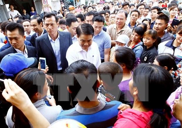 Hanoi anuncia conclusion de la inspeccion integral sobre la gestion y uso de tierra en comuna de Dong Tam hinh anh 1