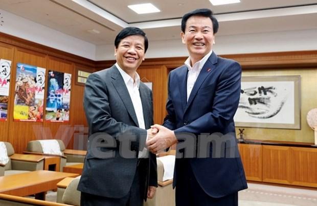 Vietnam y provincia japonesa fortalecen relaciones de cooperacion hinh anh 1