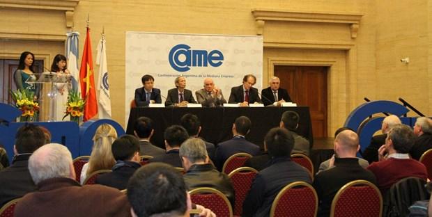 Vietnam promueve intercambio comercial con Argentina hinh anh 2
