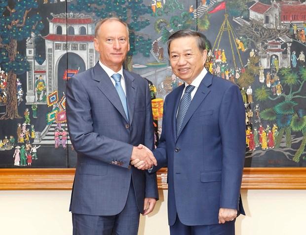 Vietnam y Rusia intensifican cooperacion en ambito de seguridad hinh anh 1