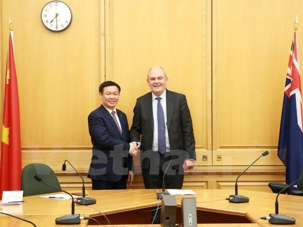 Vietnam y Nueva Zelanda aspiran a elevar trasiego mercantil a 1,7 mil millones de dolares hinh anh 1