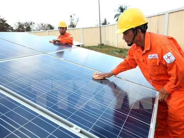Empresa estadounidense busca construir planta de energia solar en Can Tho hinh anh 1
