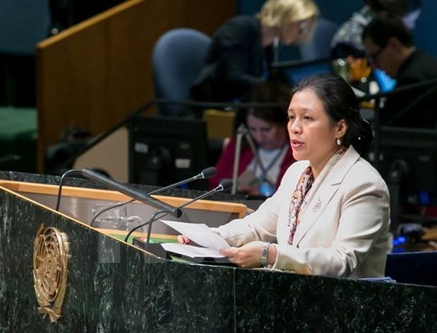 Vietnam llama a coexistencia pacifica entre Israel y Palestina hinh anh 1