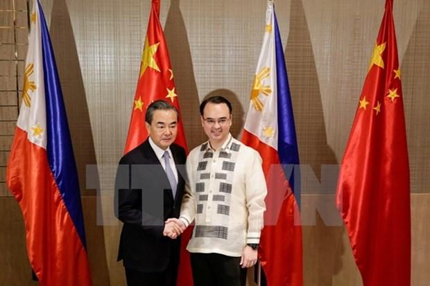 China reitera respaldo a Filipinas en lucha antiterrorismo hinh anh 1