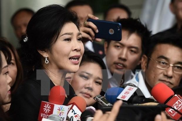 Expremier Yingluck Shinawatra acusa al primer ministro tailandes de ser deshonesto hinh anh 1