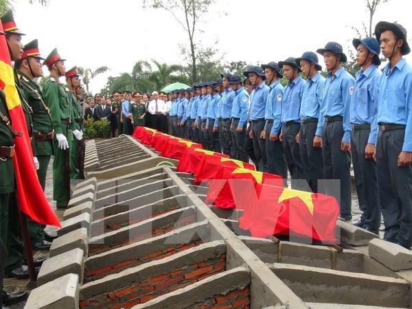 Efectuan en Camboya acto de homenaje a soldados voluntarios vietnamitas hinh anh 1