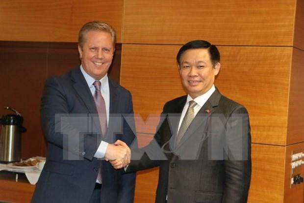 Nueva Zelanda se compromete mantener AOD a Vietnam hinh anh 1