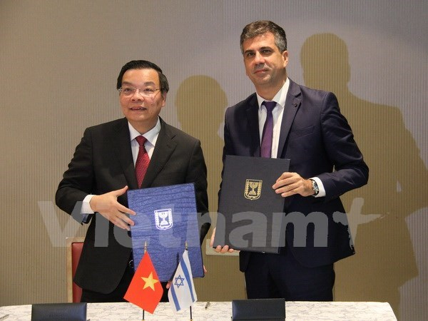 Vietnam e Israel buscan fortalecer cooperacion multifacetica integral hinh anh 1