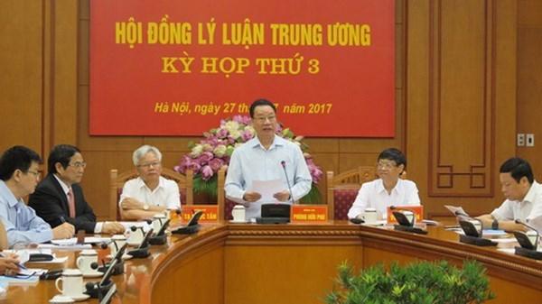 Consejo teorico del PCV celebra su tercera reunion hinh anh 1