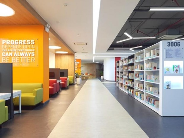 Abre sus puertas la biblioteca mas moderna de Vietnam hinh anh 5