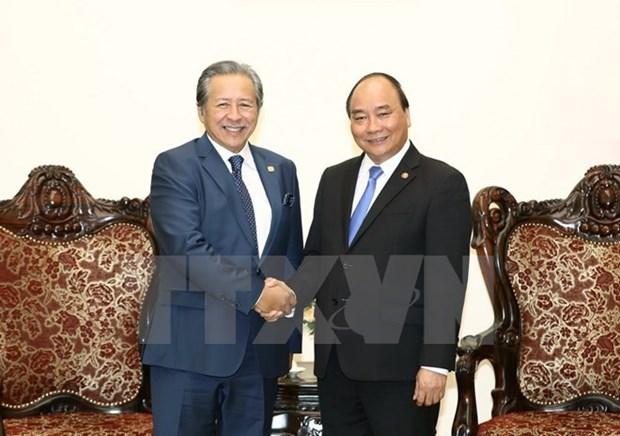 Premier vietnamita destaca creciente relacion con Malasia hinh anh 1