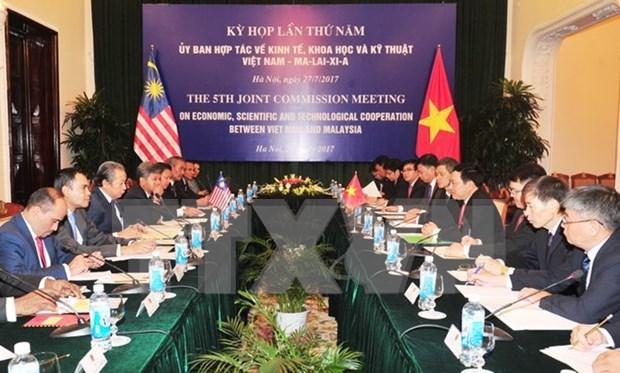 Malasia aprecia nexos estrategicos con Vietnam hinh anh 1