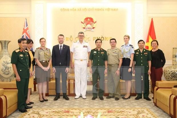 Vietnam y Australia impulsan cooperacion en defensa hinh anh 1