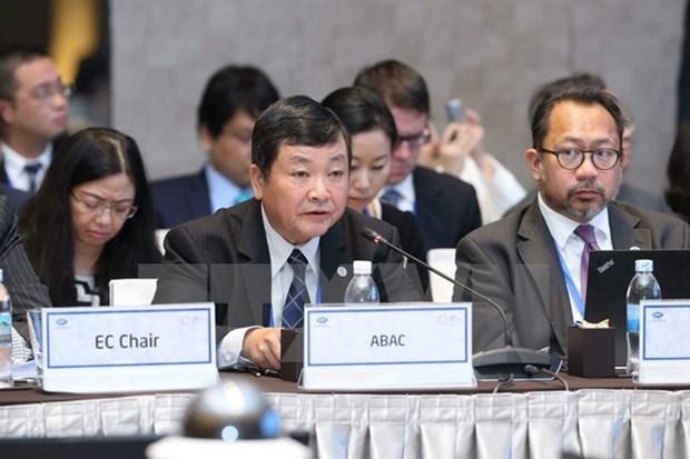 ABAC III: Por un APEC abierto, innovador e inclusivo hinh anh 1