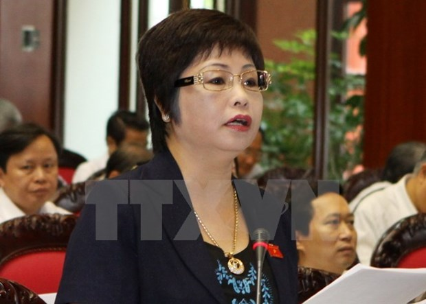 Inician en Vietnam procedimiento legal contra exdiputada por fraude comercial hinh anh 1