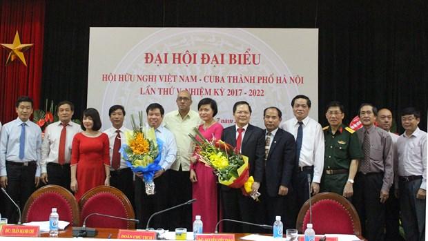 Filial de Asociacion de Amistad Vietnam-Cuba en Hanoi comprometida a impulsar nexos bilaterales hinh anh 1