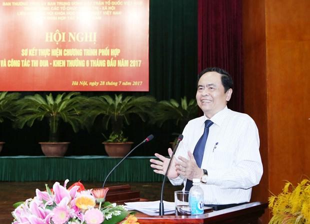 Presidente de FPV destaca las labores dedicadas a personas meritorias hinh anh 1