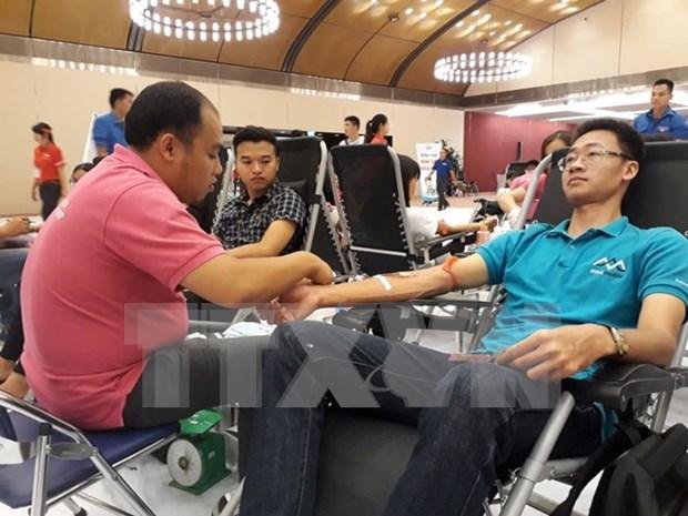 Programa de donacion de sangre en Vietnam logra resultado record en la quinta edicion hinh anh 1