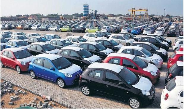 Exportaciones de automoviles de Tailandia continuan con tendencia bajista hinh anh 1
