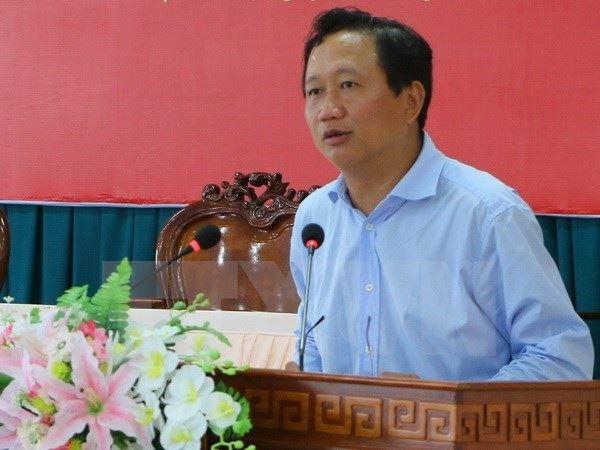 Trinh Xuan Thanh se entrega a policia vietnamita hinh anh 1
