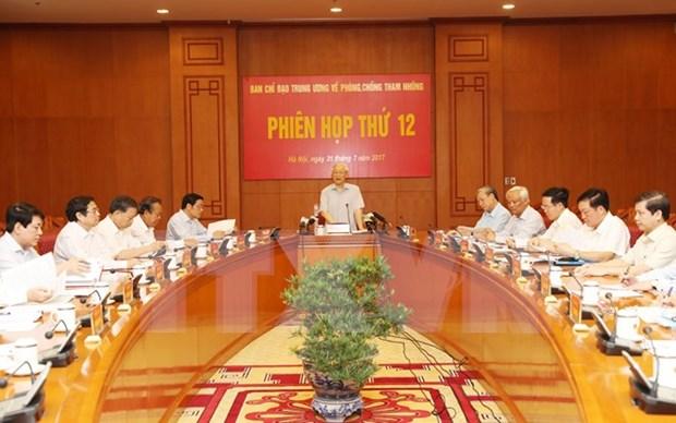 Dirigente partidista de Vietnam destaca importancia de prensa en lucha anticorrupcion hinh anh 1