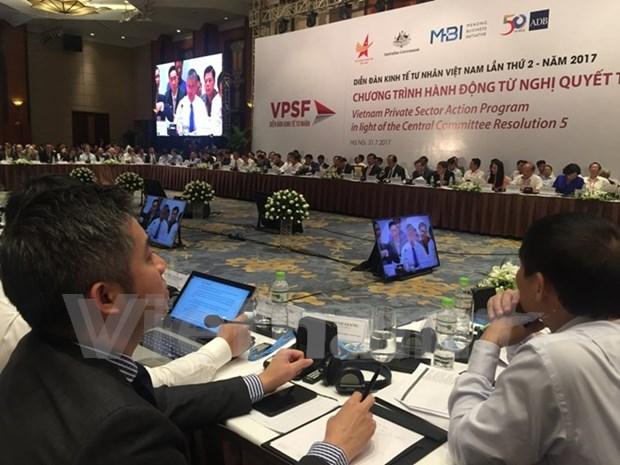 Ratifica gobierno vietnamita disposicion de acompanar al sector privado hinh anh 1