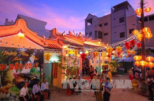 Otorgan titulo de reliquia arquitectural nacional a templo en ciudad survietnamita hinh anh 1