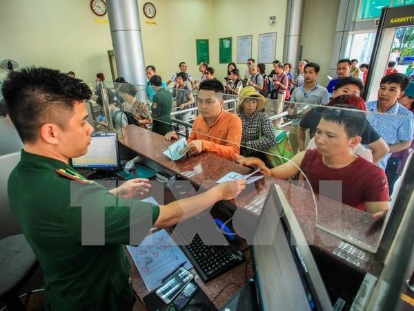 China establece oficina de visado en Paso de Amistad hinh anh 1