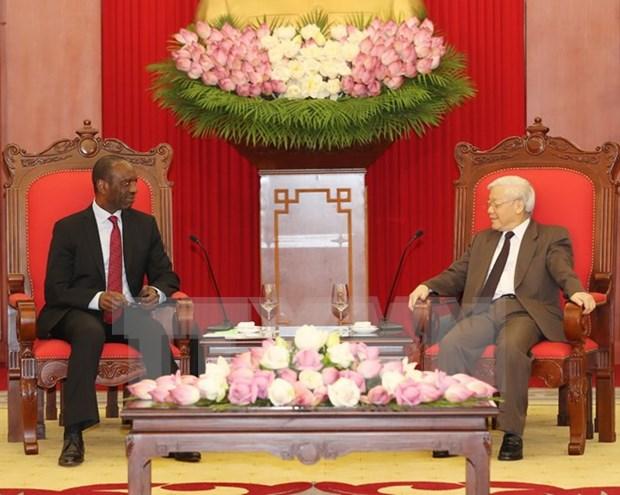 Mozambique desea ampliar lazos multisectoriales con Vietnam hinh anh 1