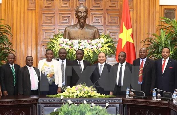 Premier vietnamita desea fortalecer nexos comerciales con Tanzania hinh anh 1