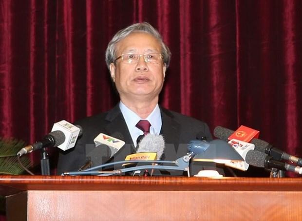Buro Politico designa a nuevo miembro permanente del Secretariado hinh anh 1