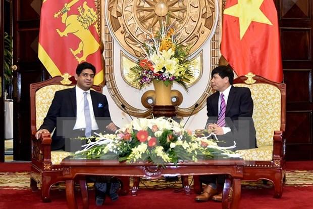 Vietnam y Sri Lanka destacan buen estado de sus relaciones hinh anh 1
